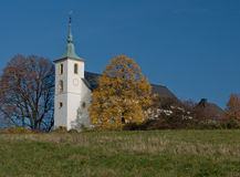 Michaelsberg Kapelle Stock Images