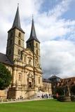 Michaelsberg Monastery in Bamberg Stock Image
