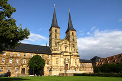 Michaelsberg Monastery in Bamberg Royalty Free Stock Photography