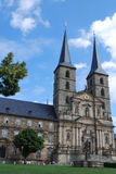 Michaelsberg Monastery in Bamberg Stock Photography