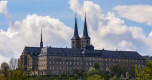 Michaelsberg Monastery, Bamberg royalty free stock photography