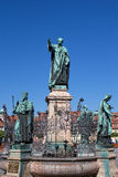 Michaelsbrunnen in Bamberg Royalty Free Stock Image