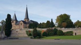 Michaelskirch i Fulda, Tyskland Royaltyfria Foton