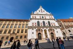 Michaelskirche - Church Of Saint Michael - Munich Royalty Free Stock Photo