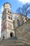 """""""Michaelskirche"""" church in Schwaebisch Hall Royalty Free Stock Photos"""