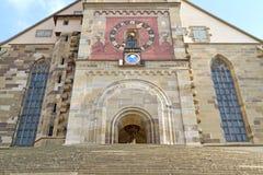 """""""Michaelskirche"""" church in Schwaebisch Hall Stock Photo"""