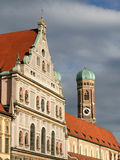 Michaelskirche and Frauenkirche Royalty Free Stock Photography