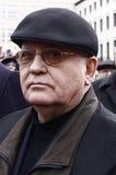 Michail Gorbachev a Berlino Fotografia Stock Libera da Diritti