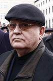 Michail Gorbachev em Berlim fotografia de stock royalty free