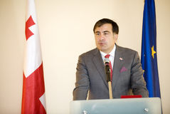 Michail Saakasvili Royalty Free Stock Images