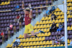 Michal Balner - pole vault Stock Image