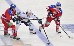 Michal Birner, Sergey Tereschenko, Niko Kapanen Stock Photography