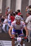 Michal Bubilek - de fietsras 2011 van Praag Stock Afbeelding