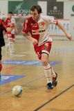 Michal Holecek - Slavia Prague futsal Stock Photography