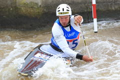 Michal Jane - water slalom Stock Photo
