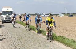 Michal Kolar - Paryski Roubaix 2014 Zdjęcia Royalty Free