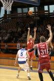 Michal Kremen - basket-ball Nymburk de CEZ Images stock