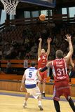 Michal Kremen - CEZ Basketball Nymburk Stock Images
