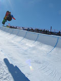 Michal Ligocki POL Race World Cup Half Pipe Stock Photo