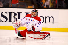 Michal Neuvirth Washingto Capitals Royalty Free Stock Image