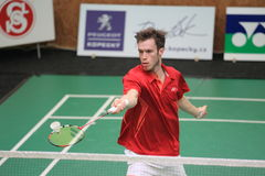 Michal Rogalski - badminton Stock Photo