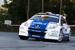 Michal Solowow Peugeot 207 Principe Asturias Royalty Free Stock Photos