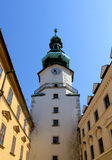 Michal Tower. Bratislava, Historic City Gate. Royalty Free Stock Photography