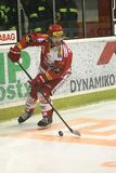 Michal Vondrka - czech hockey extraleague Stock Photography