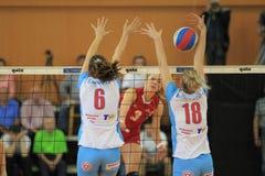 Michala Kvapilova - volleyball Stock Image