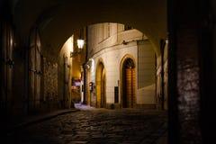 Michalská street Stock Photography