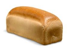 Miche de pain fraîche sur le fond blanc Photo libre de droits