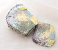 Miche de pain moisie Photographie stock libre de droits