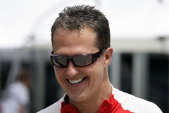 MICHEAL SCHUMACHER AT SEPANG F1 CHAMPIONSHIP 2009 Stock Images