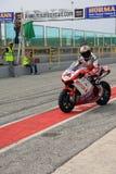 Michel Fabrizio bij de Week 2010event van Ducati van de Wereld Royalty-vrije Stock Fotografie