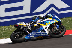 Michel Fabrizio BMW S1000 RR - BMW Motorsport Royalty Free Stock Photo