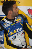 Michel Fabrizio BMW S1000 RR - BMW Motorsport Royalty Free Stock Photos