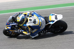 Michel Fabrizio BMW S1000 RR - BMW Motorsport Royalty Free Stock Image