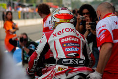 Michel Fabrizio Ducati 1998 Xerox team Stock Photography