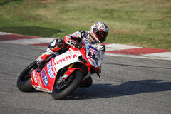 Michel Fabrizio Race 1 Winner SBK Kyalami royalty free stock photo