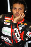 Michel Fabrizio #84 sur les diables 1000 rouges d'usine d'Aprilia RSV4 Roma Superbike WSBK Photos stock