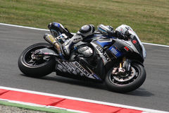 Michel Fabrizio Suzuki GSX-R1000 Alstare Royalty Free Stock Photography
