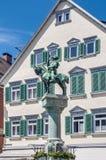 Michel Fountain in Esslingen am Neckar, Germany Royalty Free Stock Image