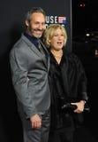 Michel Gill & Jayne Atkinson Stock Photo