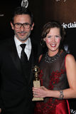 Michel Hazanavicius, Adria Tennor Stock Photo