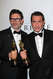 Michel Hazanavicius, Jean Dujardin Stock Photography