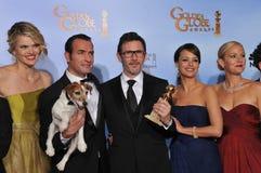 Michel Hazanavicius, Penelope Ann Miller, Missi Pyle, Jean Dujardin, Berenice Bejo, Ann Miller Fotografia Stock