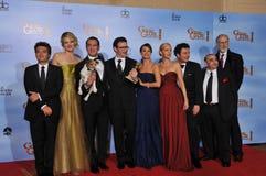 Michel Hazanavicius, Penelope Ann Miller, Missi Pyle, Jean Dujardin, Berenice Bejo, Ann Miller Fotografie Stock