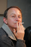 Michel Houellebecq, French writer Royalty Free Stock Photo