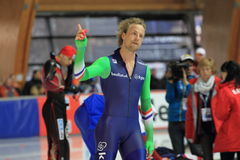 Michel Mulder - speed skating Stock Photo