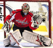 Michel Neuvirth, Capitals Goalie Stock Photos